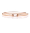 Baguette Diamond Rose Gold Ring
