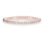 Diamond Eternity Rose Gold Ring