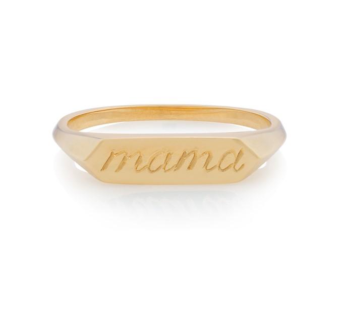 Mama Signet Ring