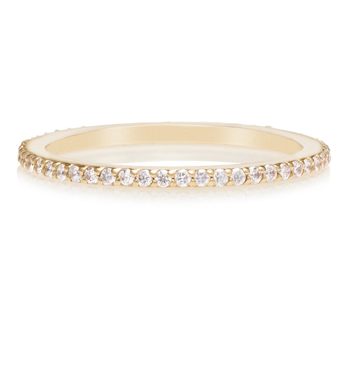Diamond Eternity Gold Ring