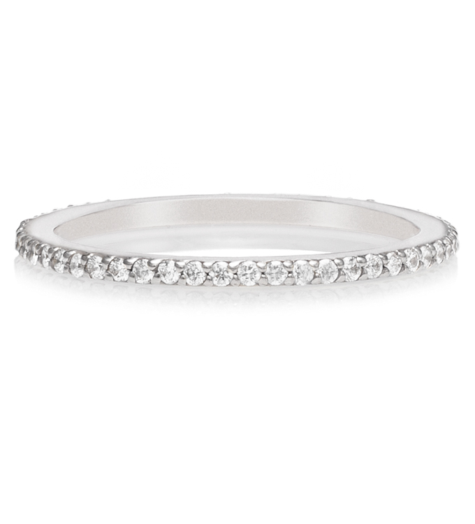Diamond Eternity White Gold Ring