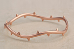 Julia Failey Eco Friendly Vine Bangle in Rose, 2 Left jewlery