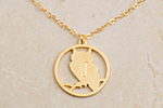 Julia Failey Eco Friendly Owl Pendant, One Left! jewlery